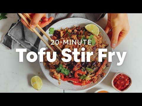 20-Minute Tofu Stir Fry | Minimalist Baker Recipes