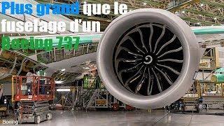 Moteur GE9X : plus grand qu'un Boeing 737
