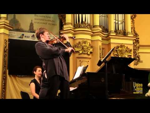 Prokofiev Sonata for violin and piano #1 in f minor. Lev Solodovnikov