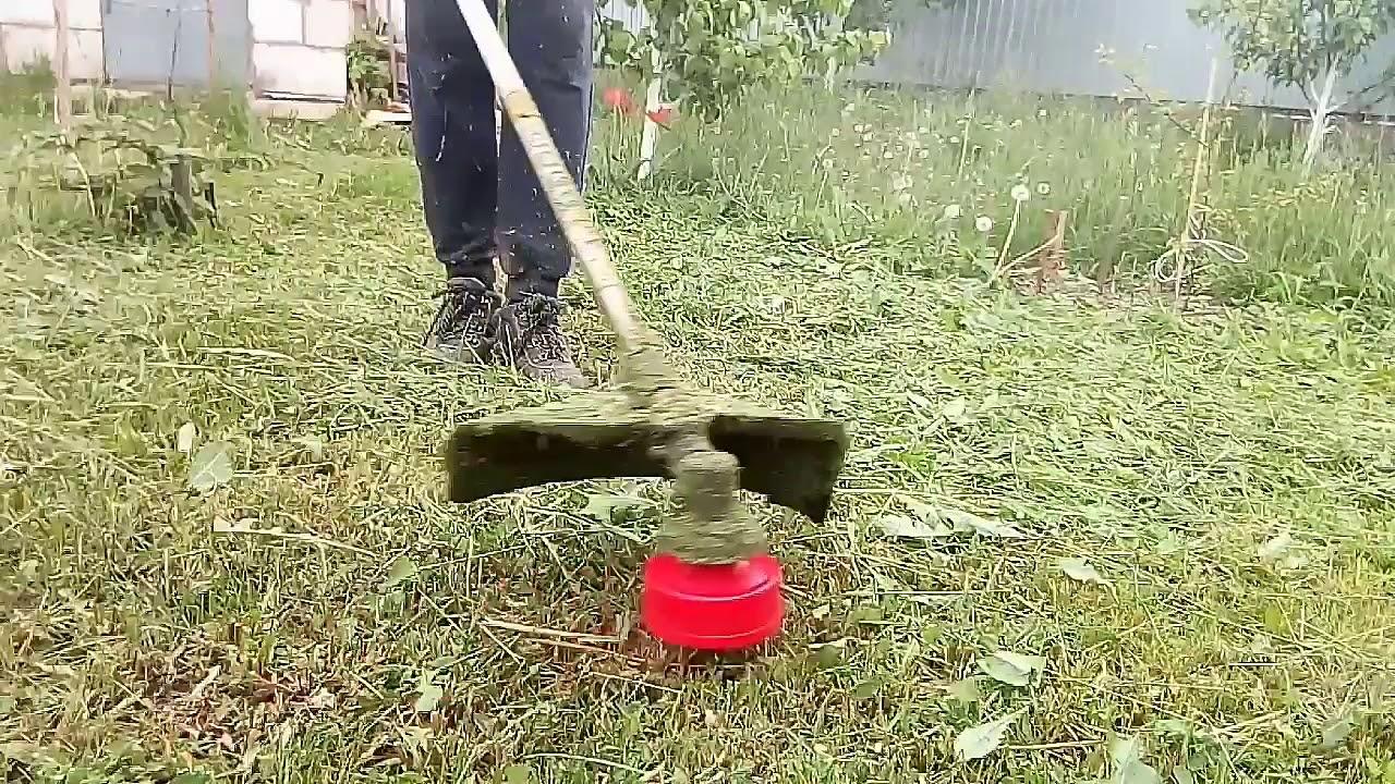 стоимость покоса травы триммером