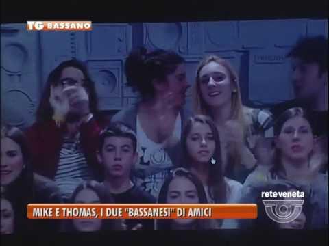 """TG BASSANO (23/11/2016) - MIKE E THOMAS, DUE""""BASSANESI"""" AD AMICI"""
