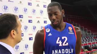 Bryant Dunston - Media Day Röportajı