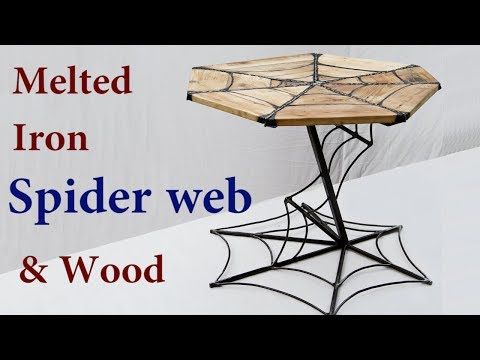 AMAZING TABLE Spider Web Table Top : How to make ; Milic Diy