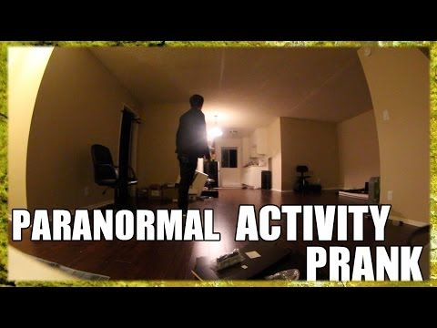 Paranormal Activity Prank [PublicPrank]