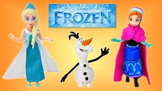 Disney Frozen Mattel Complete Story Toy Set Review │ Disney Frozen Characters