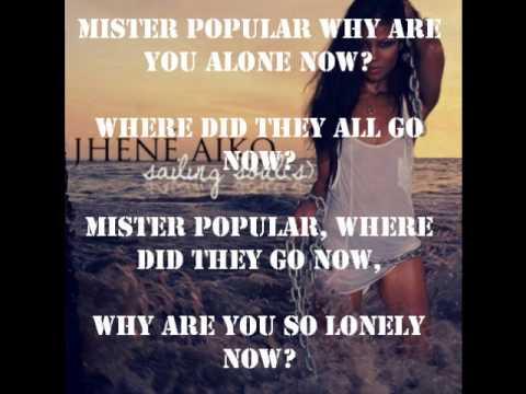 Jhene Aiko Popular (with lyrics)