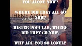 Jhene Aiko Popular (with lyrics)