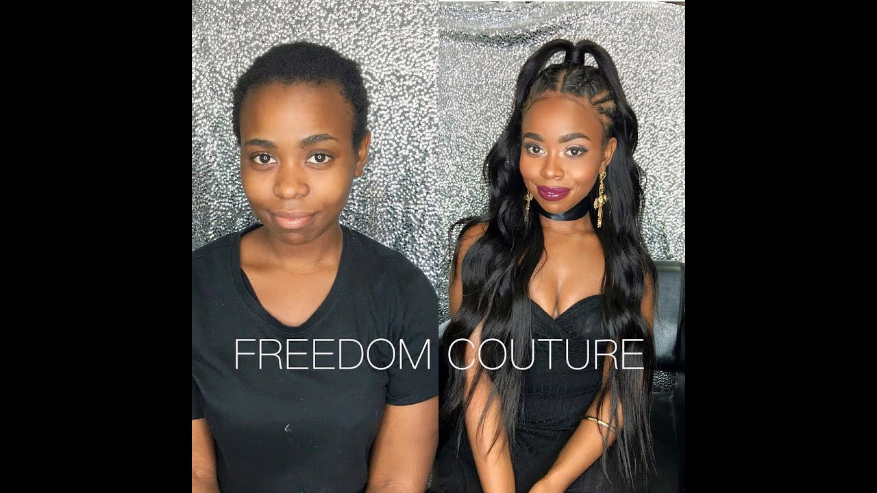 This Freedom Couture Wig Fake Hairline Will Change Your Life