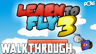 Fly Little Penguin! Learn To Fly 3 Poki Walkthrough