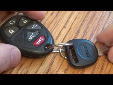 DIY GMC / Chevy SMART Key FOB Battery Replacement