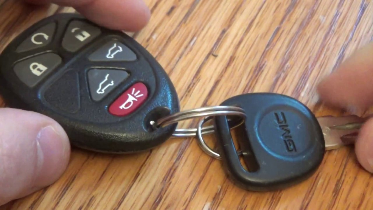 Gmc Chevy Key Fob Battery Replacement Traverse Acadia Yukon
