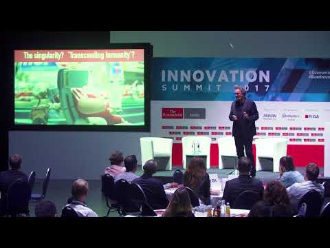 Futurist Keynote Speaker Gerd Leonhard at Economist Innovation Summit Berlin: Business, Tech, Ethics