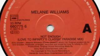 Melanie Williams - Not Enough