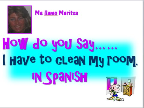 How do you say get outta my room in spanish