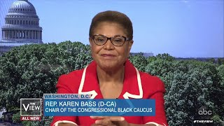 "Rep. Karen Bass: Trump is a ""Lawless President"" Who Wants to Be ""Authoritarian Leader"" 