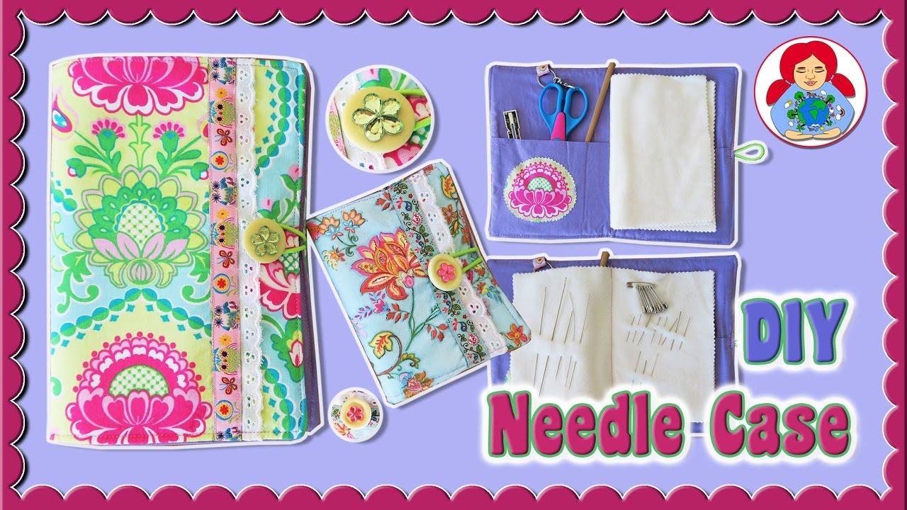 DIY | Needle Case Sewing Tutorial + FREE Pattern Download!!! • Sami ...