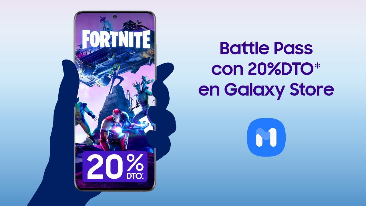 Samsung | Samsung Members | 20% en Battle Pass Fortnite