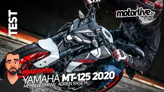 YAMAHA MT-125 2020 : BABY MT-09 ? I TEST MOTORLIVE Video