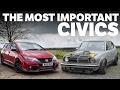 The 5 Most Important Honda Civics Ever