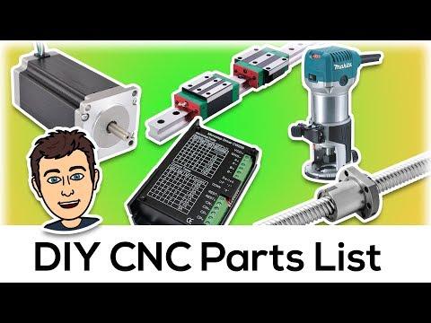Universal DIY CNC Parts List
