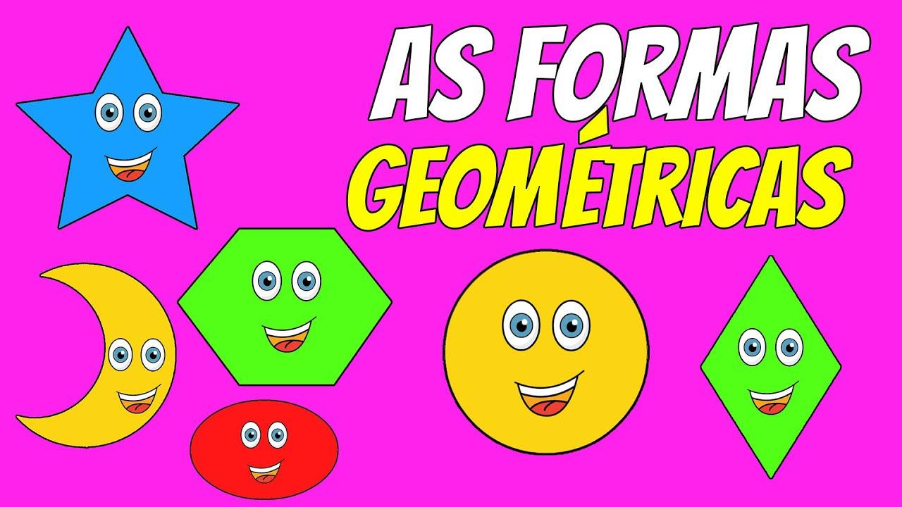 Ensinando As Formas Geométricas Para Crianças
