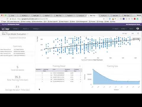 Looker demo with BigQuery Machine Learning (BQML)