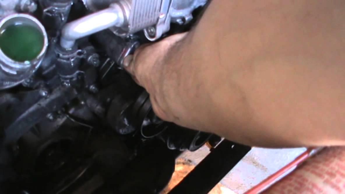 Mercedes Benz oil leak