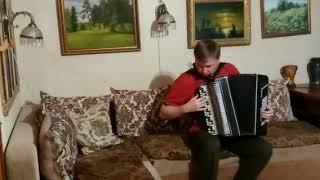 Queen on Russian accordion.Bohemian Rhapsody. (богемская рапсодия на баяне)