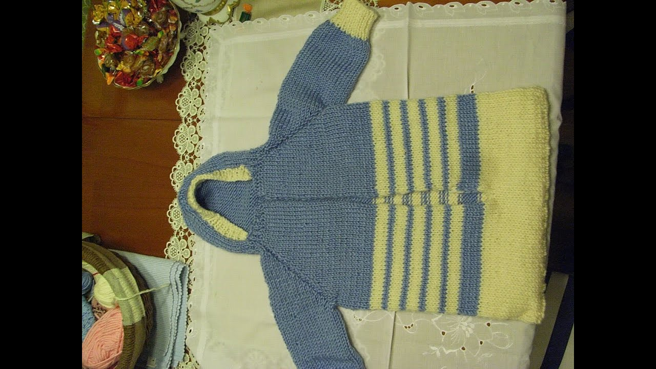 DIY* Baby Schlafsack Stricken*baby sleeping bag knit*TEIL 1 ...