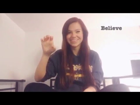 Sign Language Lesson - #2 Action Verbs