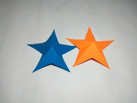 How to Make Christmas Star | simple &  Easy Paper Star | DIY Paper Crafts & Tutorials | tech gear