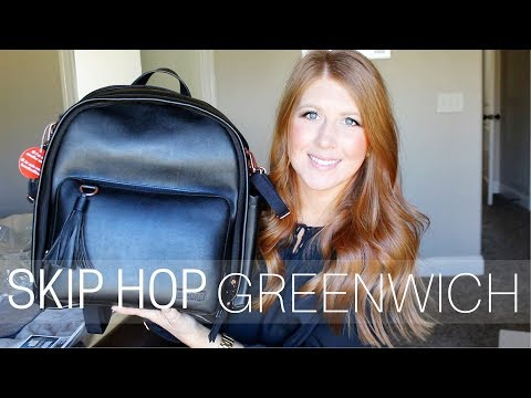 SKIP HOP GREENWICH BACKPACK // UNBOXING & FIRST IMPRESSIONS