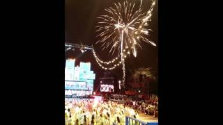 Fireworks display at Israeli Independence Day 2015