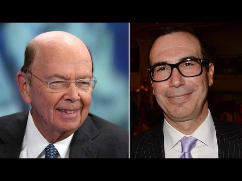 Trump eyeing Steven Mnuchin and Wilbur Ross for economy jobs-  Icahn