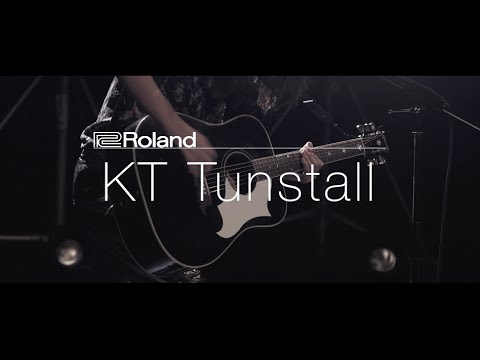 "Roland Sessions: KT Tunstall ""Suddenly I See"""