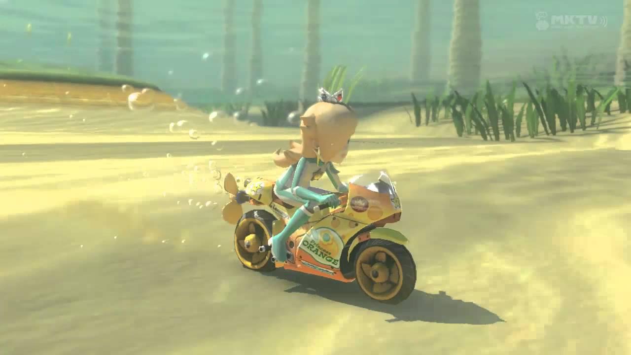 Mario Kart 8 Princess Wars Daisy Vs Rosalina Vs Peach