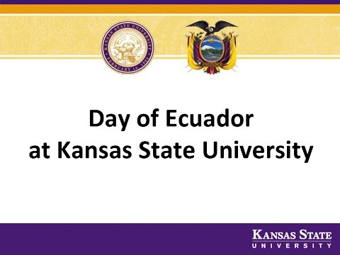 "K-State Global Campus ""Day of Ecuador"": Roundtable #1"