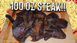 UNDEFEATED 100oz STEAK CHALLENGE in South Dakota!!
