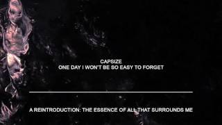 "Capsize ""One Day I Won"