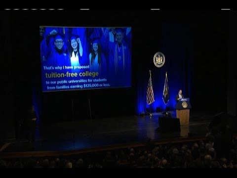 Governor Cuomo Delivers His 2017 State of the State Address in Western New York