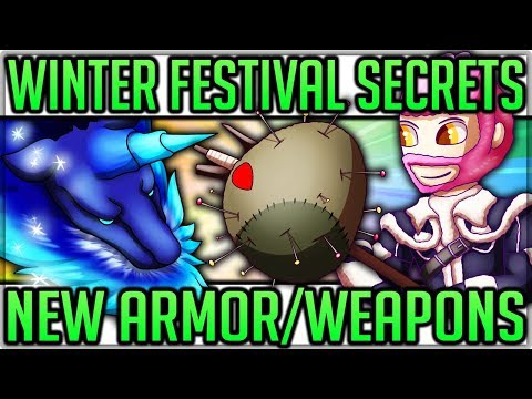 Secrets of the Winter Star Festival - New Armor/Weapons/Quests - Hints - Monster Hunter World! #mhw