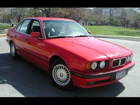 1992 BMW 525i  YouTube