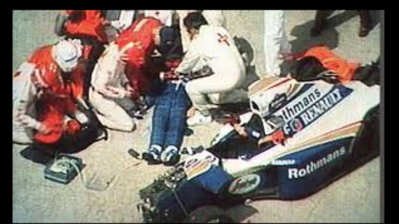 Race Car Driver Senna Died