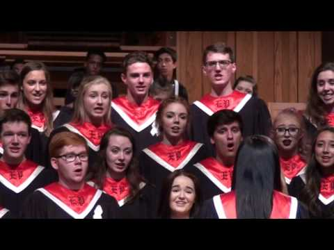 Concert Choir singing - One Last Song