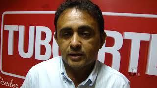 Márcio Araruna consultor de maquinas pesadas e extra pesadas, ministrou palestra na TUBOARTE.