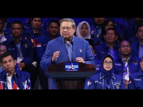 SBY: Target Demokrat Kembali Ke Pemerintahan Tahun 2019