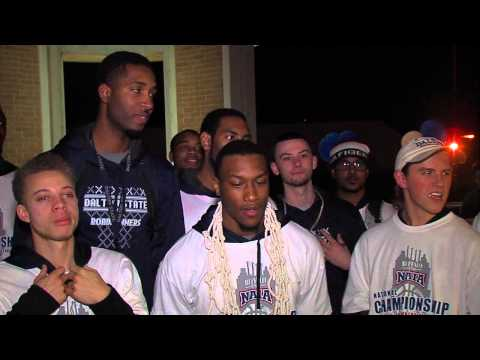 Welcoming home the Dalton State Roadrunners - NAIA D-I Men's Basketball Nat'l Champions