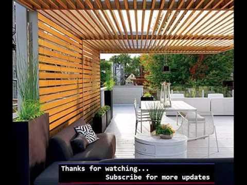 Pergola Modern | Pergola Design Pic Collection - YouTube
