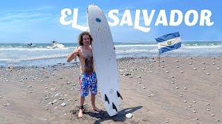La ciudad con 50 playas para surfear 🏄🏽♂️🌊 | El Salvador #1