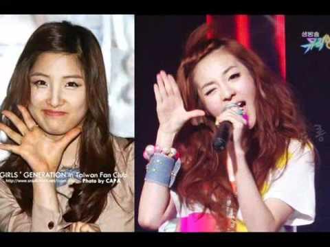FACE OFF ! jihyun(4minute) vs. dara(2ne1)